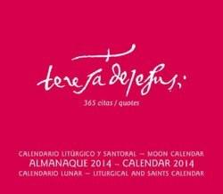 """""""Día A Día Con Santa Teresa De Jesús"""" La Edición 2014 Del Almanaque Ya A La Venta Y Más Completa"""