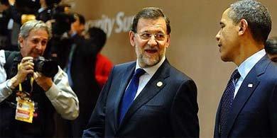 Mariano Rajoy y Barack Obama. (EFE)