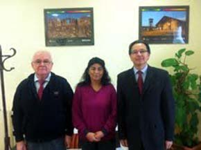 De(i) a (d): Alfredo Pastor, Evangelina Navira y Manuel Méndez