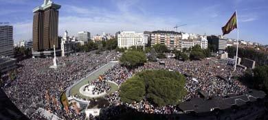 Rajoy, traidor, ¿dónde estás?', preguntan los manifestantes