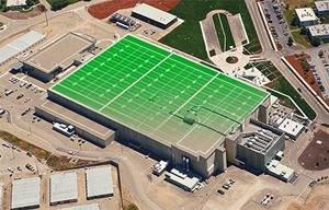 Vista aérea de las instalaciones del NIF