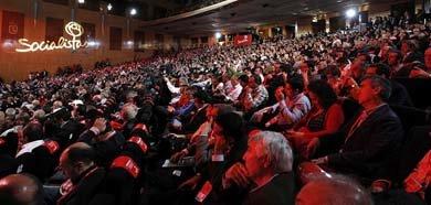 Vista general de la Conferencia Política de los socialistas. Foto: PSOE