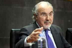 El exministro de Economía, Pedro Solbes. EFE/Archivo