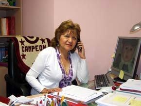 Sonia Castillo es la presidente de la Asociación Cultural 'Contigo América'