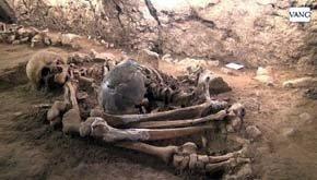 Descubren en Begues cuatro esqueletos de más de 6.400 años de antigüedad