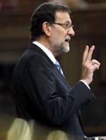 Mariano Rajoy, presidente del PP y del Gobierno