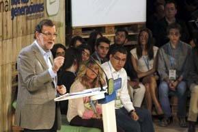 Rajoy afirma que no va a aceptar 'que nadie juegue con la soberanía nacional'