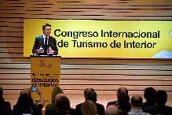El Ministro Soria apoya la iniciativa del I Congreso Internacional de Turismo de Interior