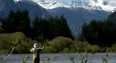 En Aysén, Chile se realiza campeonato de pesca selectiva para próximo Mundial