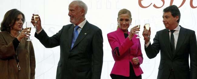 Cristina Cifuentes e Ignacio González empiezan a hacer tándem en Puerta del Sol