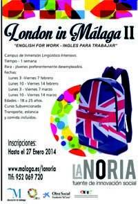 El campus de inmersión lingüística 'London in Málaga II'
