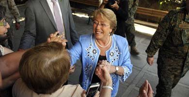 Michelle Bachelet encara un nuevo mandato en Chile