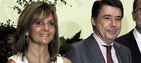 Lourdes Cavero e Ignacio González. (EFE)