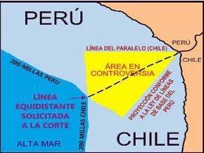 Perú y Chile acatarán fallo de La Haya sobre límites marítimos