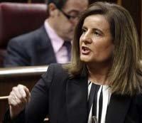 La ministra Fátima Báñez
