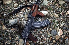 Un fusil de asalto Kalashnikov.  -Foto: Getty Images
