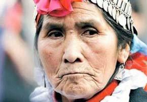 Nicolasa Quintremán era en un símbolo de la resistencia popular contra la gran hidroeléctrica de Chile. (EP)