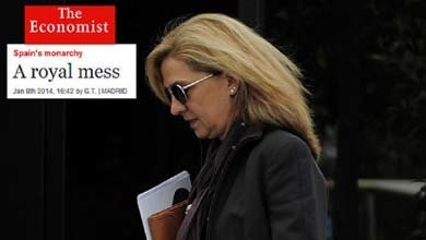 """""""El real desastre"""" de unos """"Borbones que se portan mal"""", en Time y The Economist"""