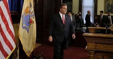 El gobernador de Nueva Jersey, Chris Christie