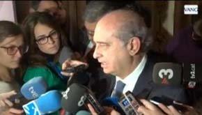 El ministro de Interior explica las detenciones en País Vasco y Navarro llevadas a cabo por la Guardia Civil desde Barcelona