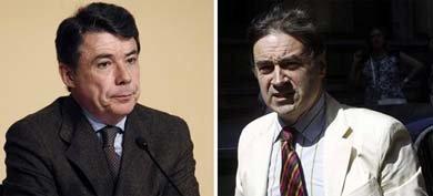 El presidente madrileño, Ignacio González y Pedro J. Ramírez (Fotos: Archivo/EFE)