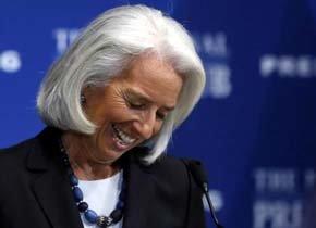 La directora gerente del Fondo Monetario Internacional (FMI), Christine Lagarde. (EFE)