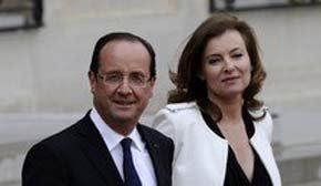 Valérie Trierweiler, dispuesta a perdonar a Hollande