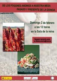 Pasado y presente de la Quinoa en el Museo de América