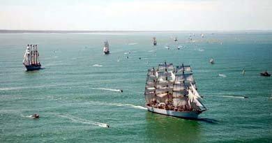 Buques escuela sudamericanos participarán en regata por el continente