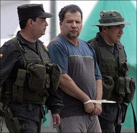 'Don Mario', el más poderoso, buscado y temido narco colombiano, fue capturado pacíficamente.