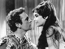 El cine ha idealizado la legendaria pareja formada por Marco Antonio y Cleopatra