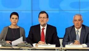 Caos interno en el PP andaluz: Cospedal y Arenas, a la greña por el candidato