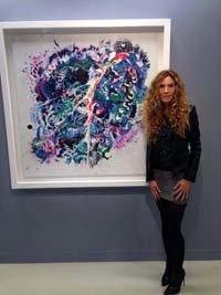 """Blanca Cuesta expone su serie de pintura """"Proposing Fluor"""" en la nueva galería David Bardía"""