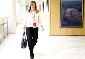 La presidenta de Andalucía, Susana Diaz. Foto: PSOE