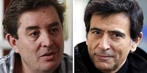 Luis García Montero y Arcadi Espada / Fotos EFE