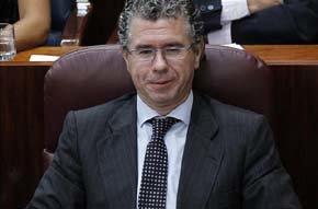 El senador y diputado madrileño Francisco Granados. EFE/Archivo