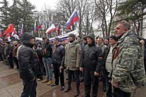 El Parlamento de Crimea decide por unanimidad su incorporación a Rusia