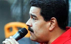 Maduro en el Palacio de Miraflores