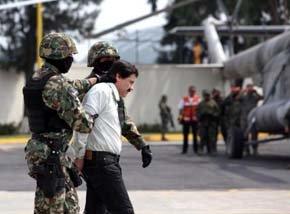'El Chapo' fue detenido delante de su mujer y sus hijas