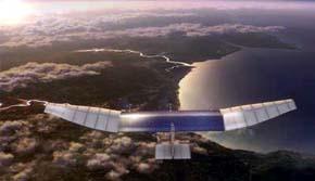 Así será el nuevo dron de Facebook basado en energía solar