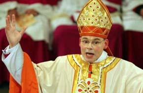Ex obispo de la diócesis alemana de Limburg, Franz-Peter Tebartz-van Elst
