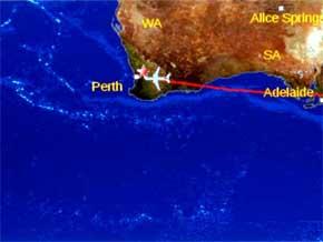 Los posibles restos del avión en el océano son una 'pista creíble'