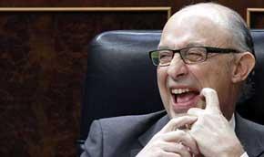 Cristóbal Montoro en el Congreso / EFE-Archivo