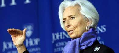 La presidenta del Fondo Monetario Internacional, Christine Lagarde (Reuters)