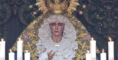 Imagen de Nuestra Señora María Santísima del Amor- (EFE)