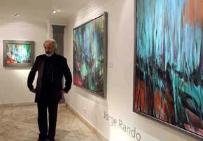 """Jorge Rando, autor del libro """"Pensamientos y reflexiones"""" sobre el arte y la vida"""