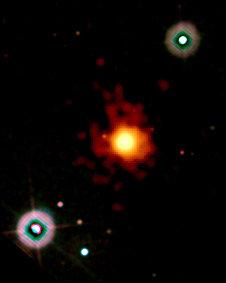 Destello dejado tras masiva explosión de energía de una estrella moribunda