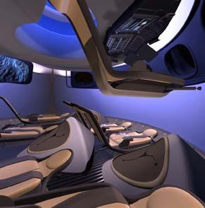 Así será la cápsula espacial de Boeing para turismo orbital