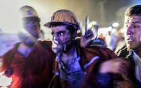 La explosión en una mina de Turquía deja al menos 205 muertos