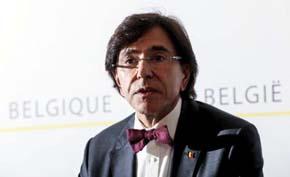 El primer ministro belga, Elio Di Rupo